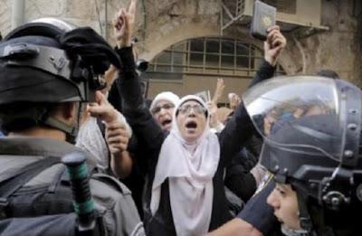Pekikan Takbir Dianggap Kriminal oleh Penjajah Zionis