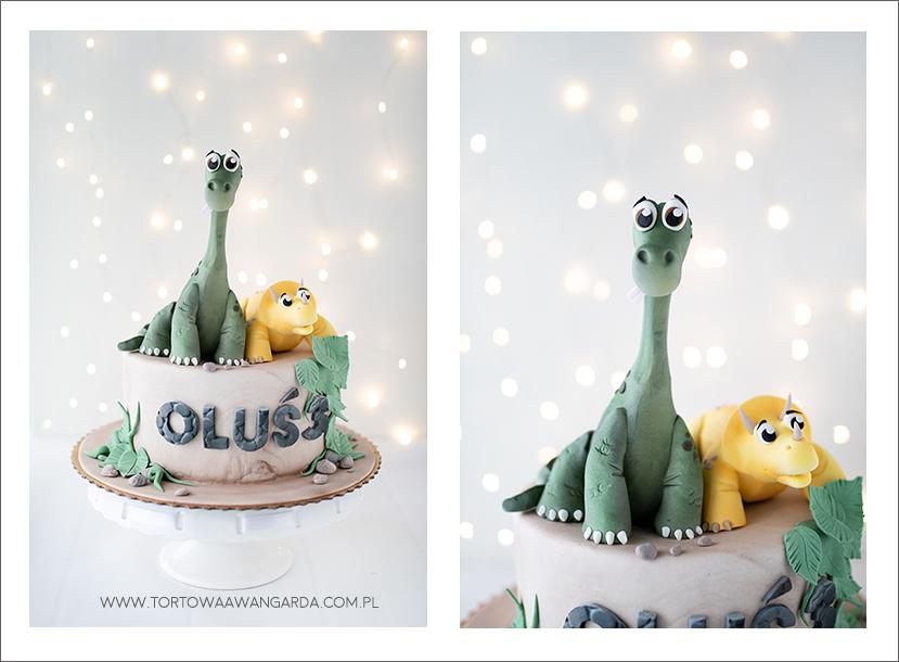 tort urodzinowy z dinozaurami Warszawa