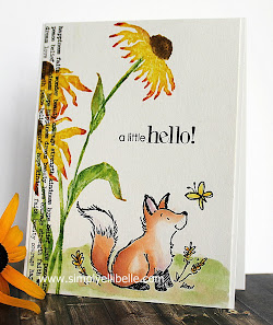 Ellibelle's Crafty Wednesday September Challenge: Flora and/or Fauna