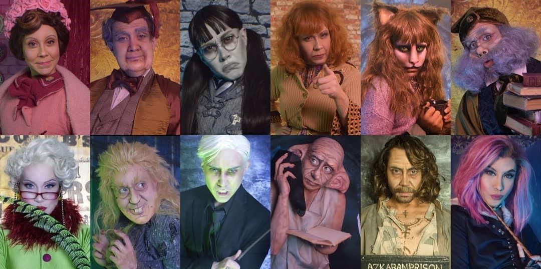 Confira todas as transformações da drag queen Phi Phi O'Hara em personagens de 'Harry Potter' | Ordem da Fênix Brasileira