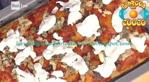 Focaccia con salsiccia di cinghiale pomodoro e melanzane ricetta Bonci da Prova del Cuoco