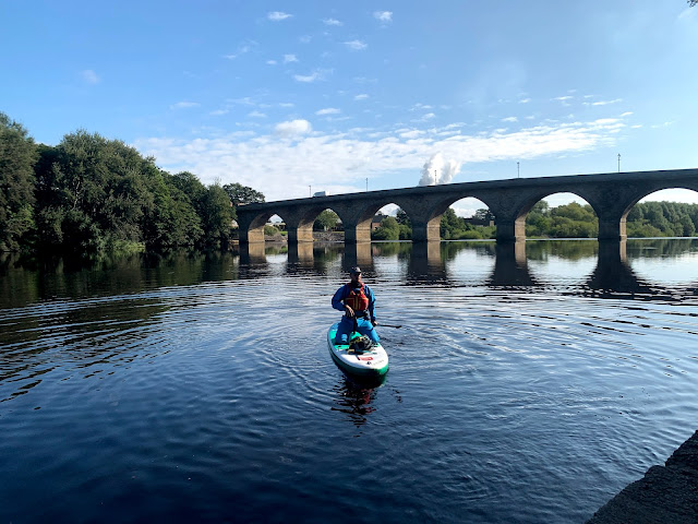 My Paddleboard Adventure on the River Tyne with CBK Adventure