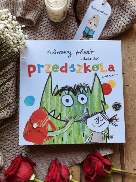 Anna Llenas, Kolorowy potwór idzie do przedszkola