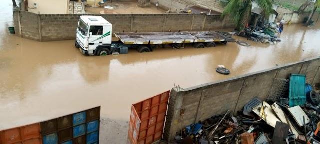 Inondation à Lomé : Affaissement d'un pan de la clôture de l'aéroport international de Lomé