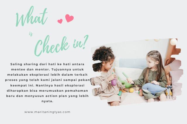 jurnal bunda cekatan: apa itu check in?