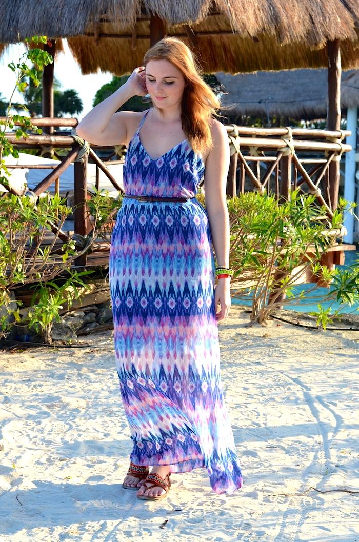 Forever 21 Chiffon Maxi Dress