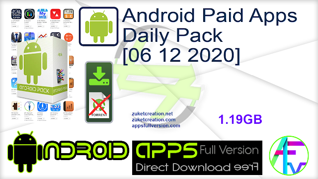 Android Paid Apps Daily Pack [06 12 2020]