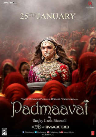 Padmaavat 2018 Pre DVDRip HQ 1Gb Full Hindi Movie Download Watch Online Free bolly4u