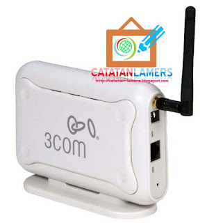 Cara Setting 3Com OfficeConnect Wireless 54Mbps11g Access Point Sebagai Client Hotspot