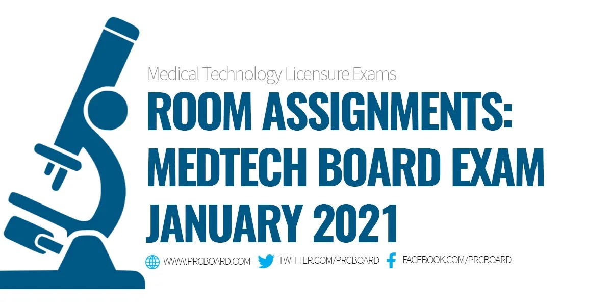 MedTech Room Assignment January 2021