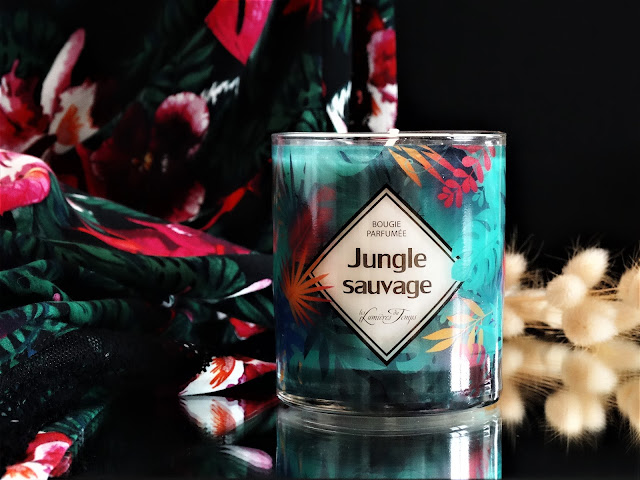 Les Lumières du Temps Jungle Sauvage avis, bougie les lumieres du temps avis, collection evasion les lumieres du temps, bougie naturelle made in france