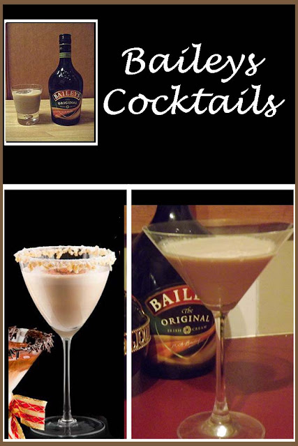 Baileys Cocktails - delicious cocktail recipes to enjoy featuring Baileys