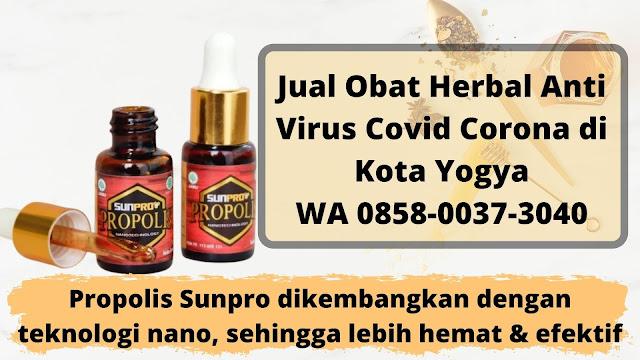 Jual Obat Herbal Anti Virus Covid Corona di Kota Yogya WA 0858-0037-3040