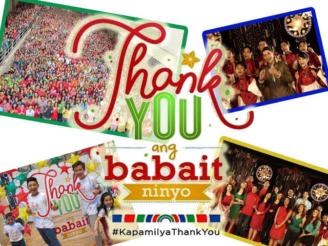 Thank You, Ang Babait Ninyo Abs-Cbn Christmas Station ID 2014