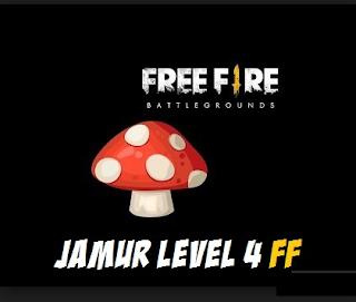 Jamur level 4 free fire || tempat jamur level 4 di free fire dan Fungsi Jamur Free Fire