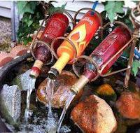 Manualidades con botellas recicladas de vidrio