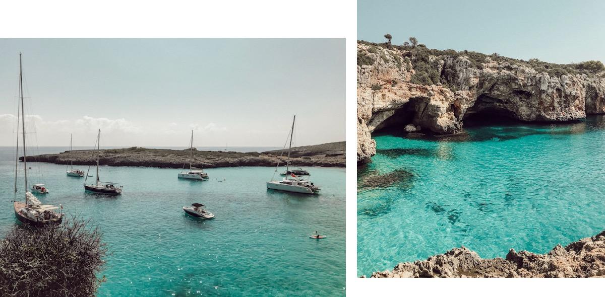 Cala Varques Mallorca Best Beaches Die schönsten Strände und Buchten Mallorcas auf: https://www.theblondelion.com/2019/09/schoenste-straende-buchten-mallorca.html Tipps Reiseblog Travel Diary Reiseführer Reisetipps