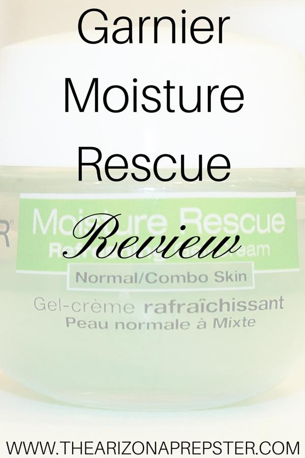 Garnier Moisture Rescue Gel Review
