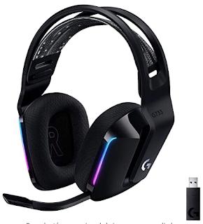 Auriculares gaming Logitech G733