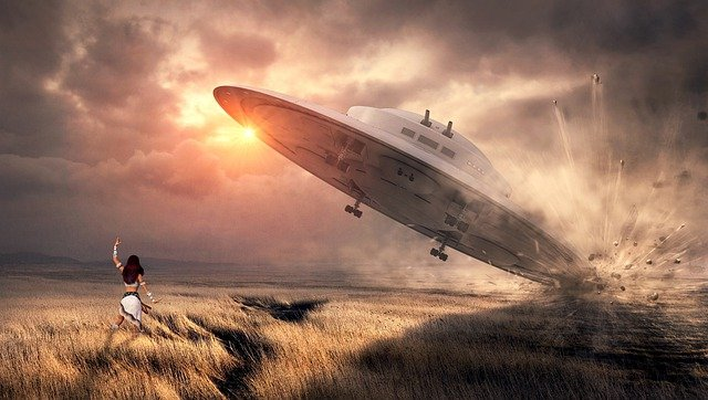 antariksh se aaye alien ufo