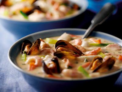 Norwegian Fiskesuppe fish soup