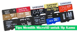 8 Tips Memilih MicroSD Card Untuk Handphone Android Kamu
