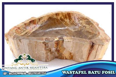 Wastafel Batu Fosil | Wastafel Batu Alam WA 085785587255