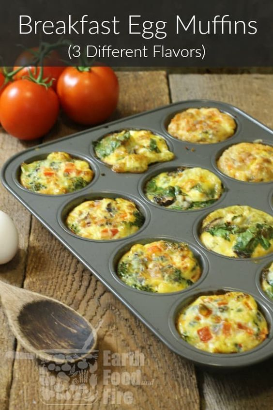 On The Go Breakfast Egg Muffins (3 Ways) #recipes #healthybreakfast #breakfastrecipes #healthybreakfastrecipes #food #foodporn #healthy #yummy #instafood #foodie #delicious #dinner #breakfast #dessert #lunch #vegan #cake #eatclean #homemade #diet #healthyfood #cleaneating #foodstagram