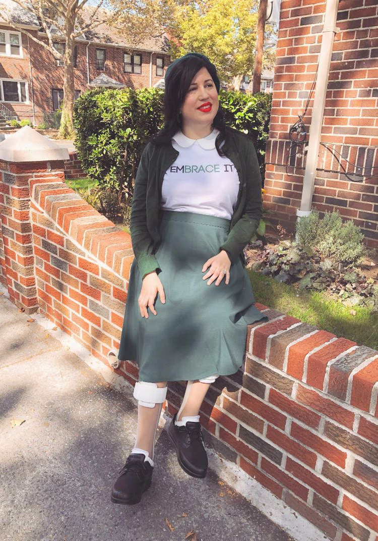 A Vintage Nerd, Vintage Nerd, Vintage Blog, Vintage Blogger, Retro Style Blog, Retro Lifestyle Blog, Trendable Blog, Living with CMT, Fashion and Leg Braces, Disabled Fashion, CMT Blog, CMT Inspiration