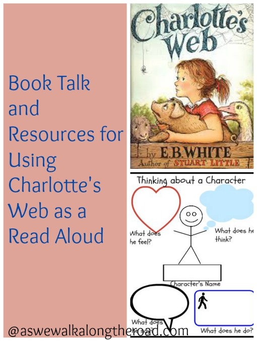 Ideas and resources for using Charlotte's Web as a read aloud book