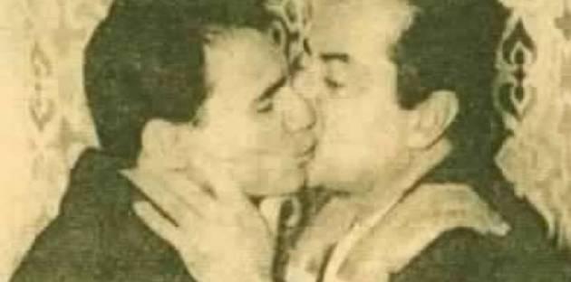 هذه هي حقيقة الصورة غير اللائقة للعندليب وفريد الأطرش!