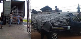 Pengiriman pagar brc sumatra