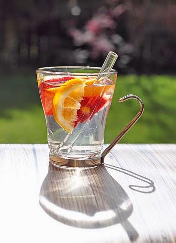 agua saborizada naturalmente