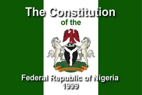 Constitution of the Federal Republic of Nigeria  1999