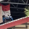 Geger! Bendera Merah Putih Bergambar Palu Arit Berkibar di Unhas