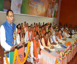 BJP प्रदेश अध्यक्ष बोले- चीन से निकला कोरोना सबको कर रहा तबाह, इससे डरने की नहीं जागरूकता की जरूरत