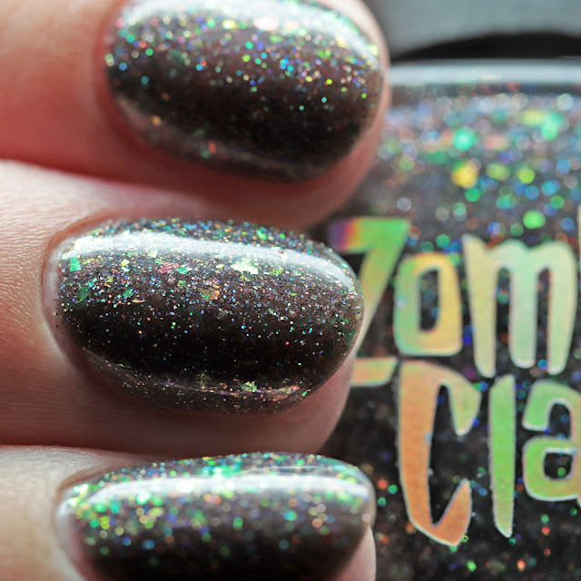 Zombie Claw Polish Mourning