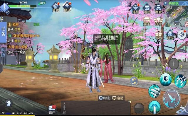 Kiếm Vương Truyền Kỳ mobile: Game kiếm hiệp hay lối chơi hấp dẫn 4