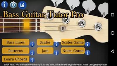 Bass guitar tutor pro latest apk
