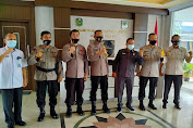 Perkuat Silaturrahmi, Kapolres Besama Jajaran Temui Ketua DPRD Tebo