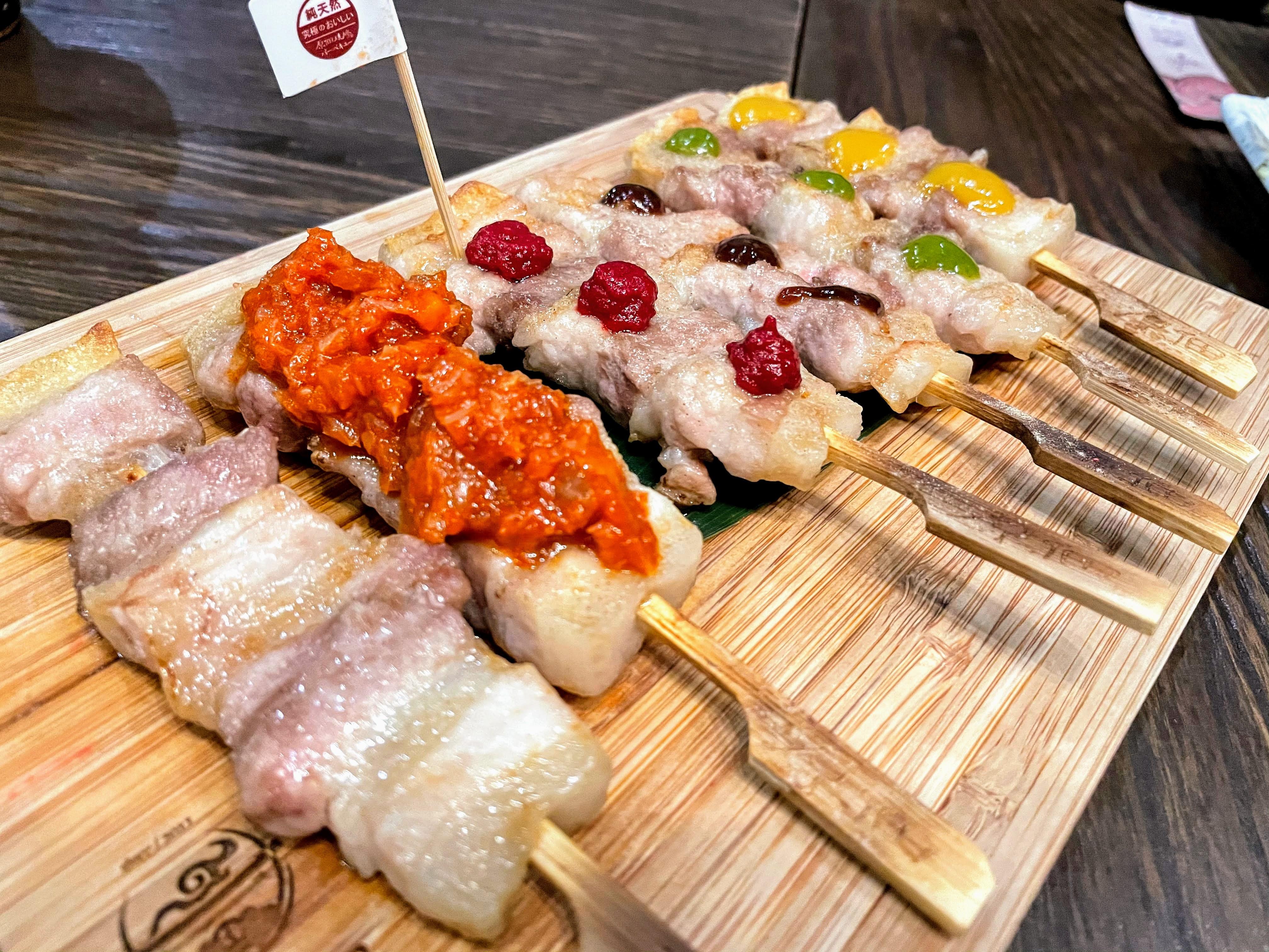 [台南][東區] 原佃燒烤|CP值高日式串燒|豬油拌飯超美味~南紡夢時代附近美食