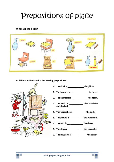 Edu 3105 Sample Lesson Plan Preposition