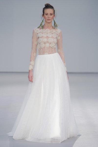 Vestido de novia Pol Núñez 2017