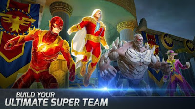 DC Legends Mod Apk Full  (God Mode/Massive Dmg) v1.8.2