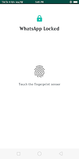 whats new fingerprint featureapp
