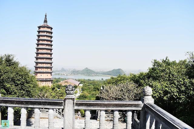 Bai Dinh Pagoda en Ninh Binh, Vietnam