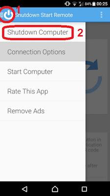 طريقة إيقاف تشغيل الحاسوب عن بعد Shutdown Start Remote