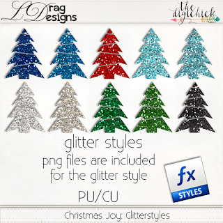 Creative Team for LDrag Designs -    Christmas Joy: The Collection by LDrag Designs and Coordinating Freebie