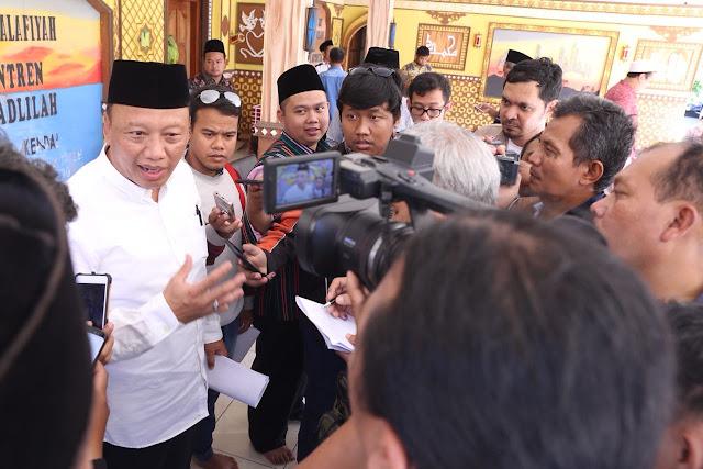 Presiden DPP Konfederasi Sarikat Buruh Muslim Indonesia (Sarbumusi) Syaiful Bahri Anshori. https://www.selarik.com/