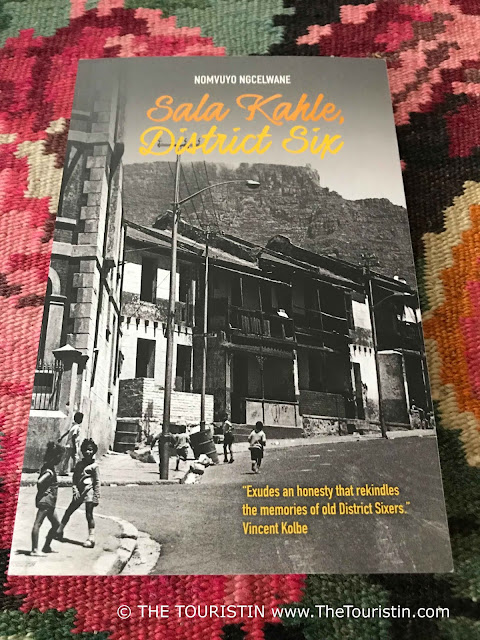 "Nomvuyo Ngcelwane. Book cover ""Sala Kahle, District Six"